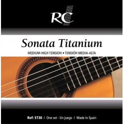 Juego de Cuerdas Royal Classics Sonata de Titanio ST30