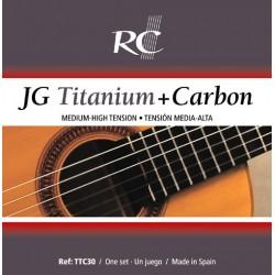 Juego de Cuerdas Royal Classics JG titanio y carbono TTC30
