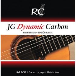 Juego de Cuerdas Royal Classics JG Dynamic Carbon DC10