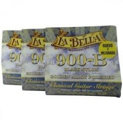 LB902 Segunda Cuerda La Bella 902 Nylon Negro