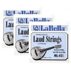 ML455 Quinta Cuerda de Laud La Bella ML-450 (2 unidades)