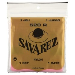 520R Juego de Cuerdas Savarez Clasica carta Roja