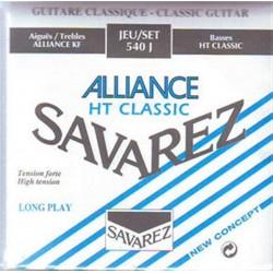 540J Juego de Cuerdas Clasica Savarez Alliance Tension Alta