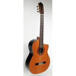 MTZ MCG-58S CE Guitarra Clasica EQ Fishman