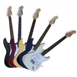C350.230SB Guitarra Electrica Tipo Strato Sunburst