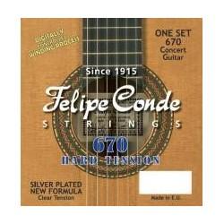 C302.670 Cuerdas Felipe Conde Clasica Tension Alta