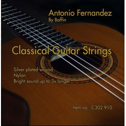 C302.910 Cuerdas Guitarra Clasica Antonio Fernandez Tension Media