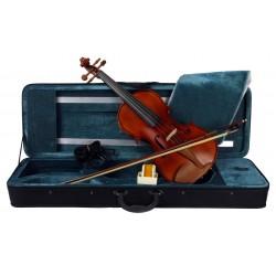 C370.TY-6 4/4 Violin 4/4 Macizo en estuche rectangular