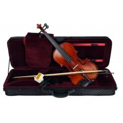 C370.TY-7 4/4 Violin 4/4 Macizo en estuche rectangular