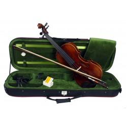 C370.TY-8 4/4 Violin 4/4 Macizo en estuche rectangular
