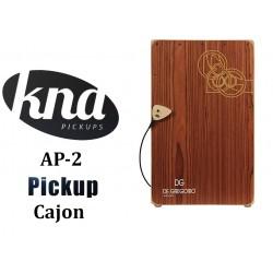 KNA AP-2 Previo universal Acustica o Cajon con Control de Volumen pickup pastilla (Para Cajon, guitarra, ukelele, etc)
