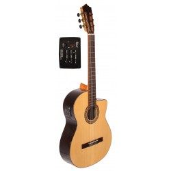 Tatay C320.204EQ Guitarra Clasica Palosanto Amplificada