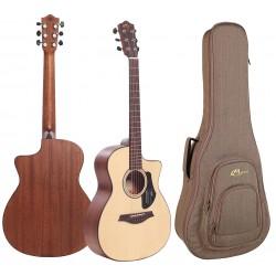 Mayson Atlas E Guitarra Acustica Mini Jumbo Mate