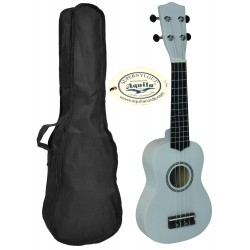 C380.050WH Ukelele Soprano LANAI con Funda Color Blanco Brillo